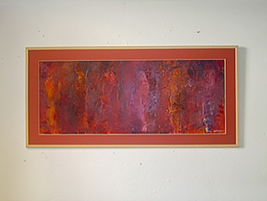 Composition with kore - Oil on paper