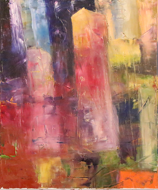 Dissolution - Oil on canvas 50x60 cm
