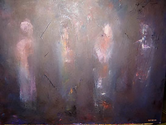 Apollo - Oil on canvas 50x65cm