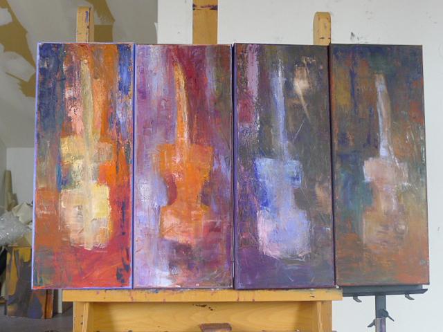 Music Man - Oil on canvas 80x50cm