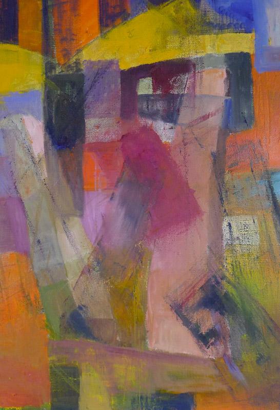 Falling Stones - Oil on canvas 60x40 cm
