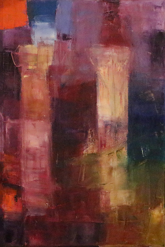 Colonnade - Oil on canvas 40x60cm