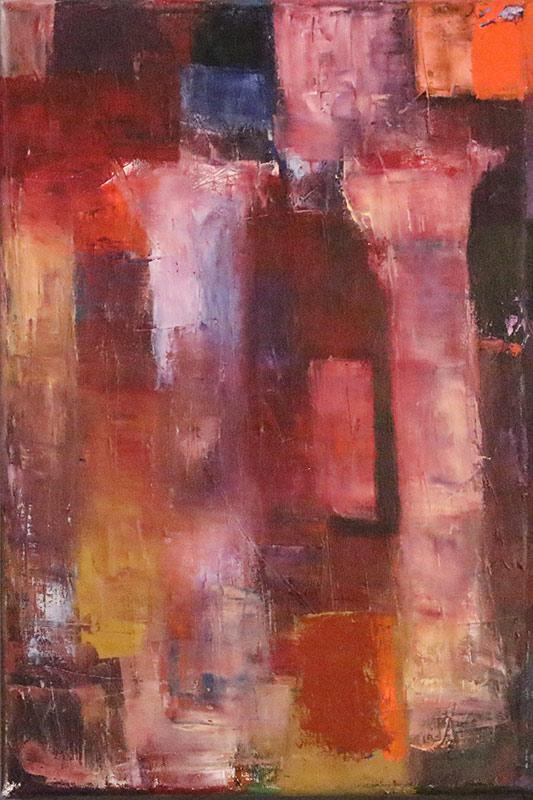 Colonnade 2 - Oil on canvas 40x60cm