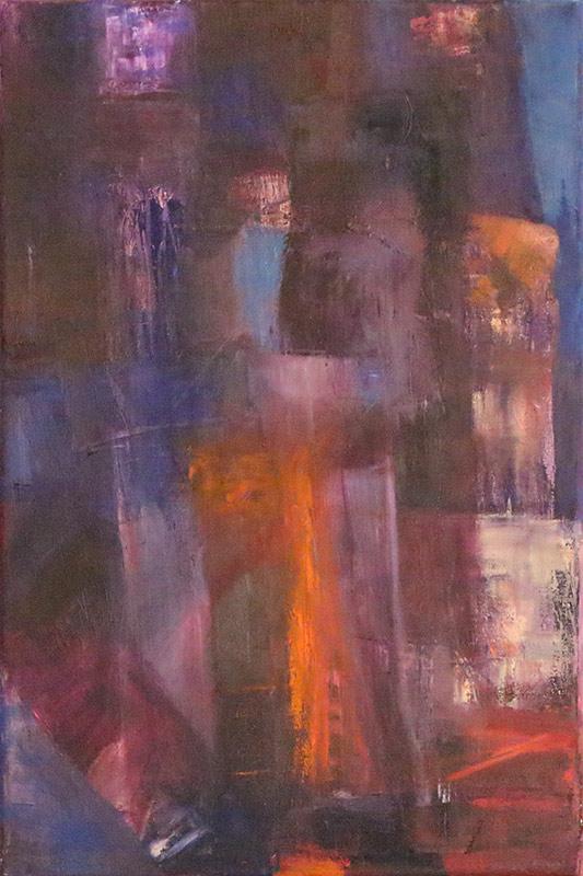 Gateway - Oil on canvas 40x60cm