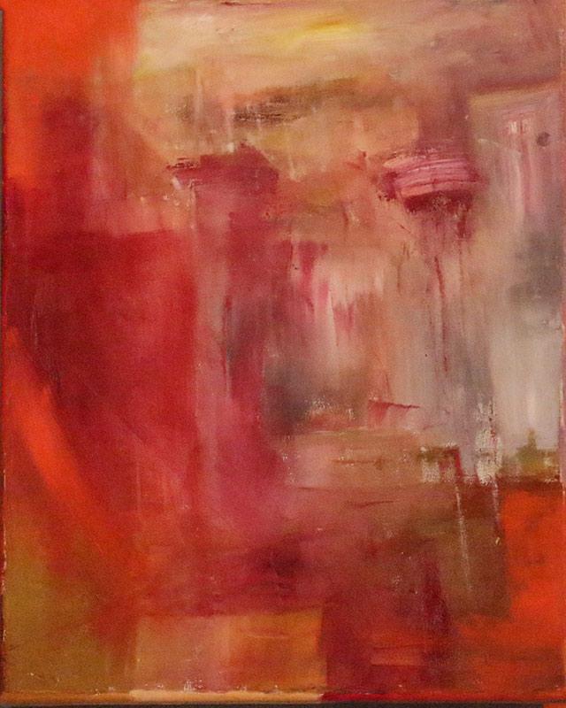 Zenobia R.I.P. - Oil on canvas 40x50cm