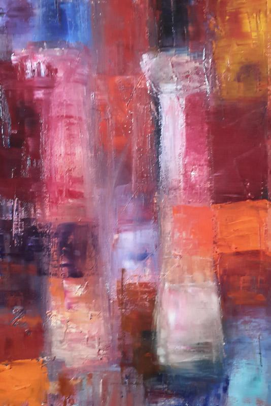 Colonnade 3 - Oil on canvas 40x60cm