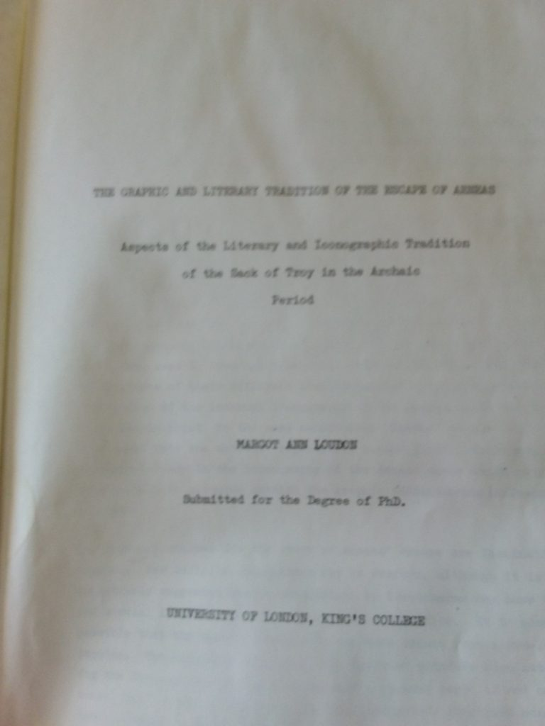 thesis title page
