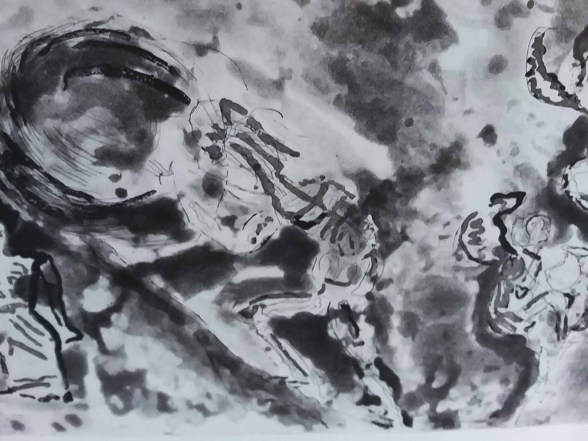Sisyphus - 290 x 380 mm